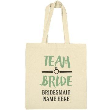 Team Bride Bridesmaid Design