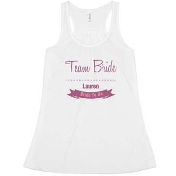 Team Bride Custom Tank