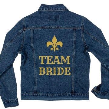 Team Bride Denim Jacket