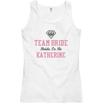 Team Bride Diamond Tank