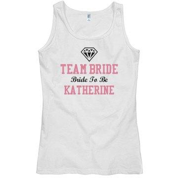 Team Bride Diamond Tank