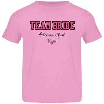 Team Bride Flower Girl