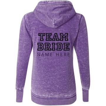 Team Bride Insert Name