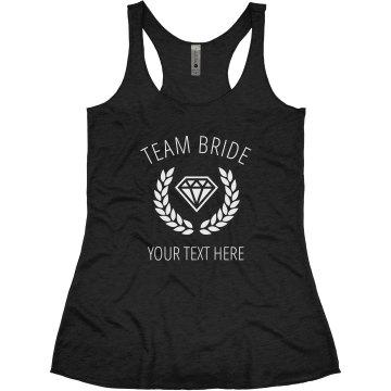 Team Bride Laurel Diamond