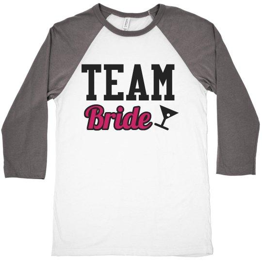 Team Bride Martini