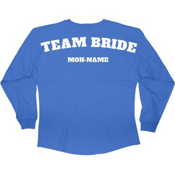 Team Bride MOH Jersey