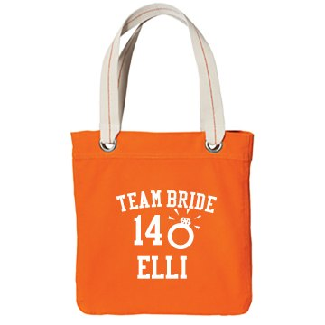 Team Bride Party Tote