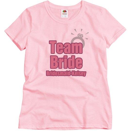 Team Bride Ring Maid