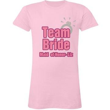 Team Bride Ring MOH