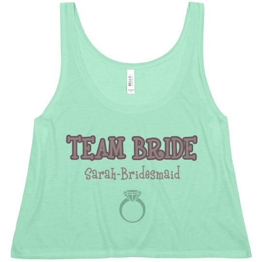 Team Bride Ring Tank