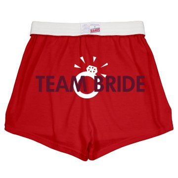 Team Bride Shorts