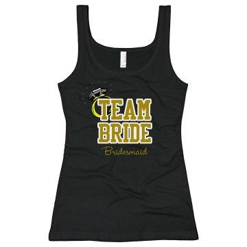 Team Bride Taking Plunge