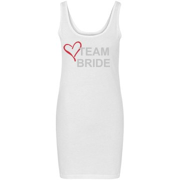 Team Bride Tank Dress