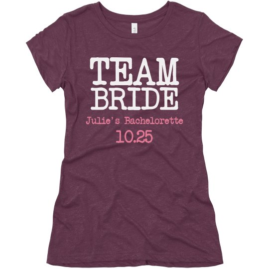 Team Bride with Date