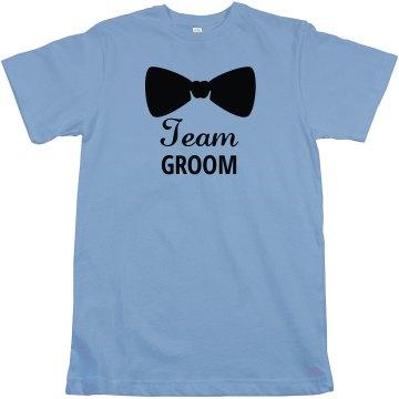 Team Groom Bachelor Tshirt