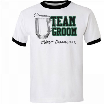 Team Groom Tee