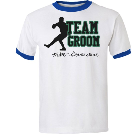 Team Groom Tee