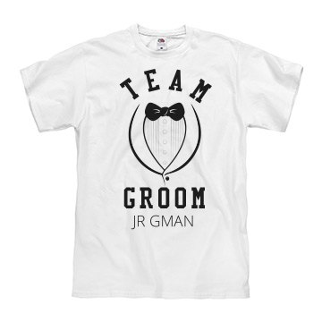 Team Groom Tuxedo Jr Gman
