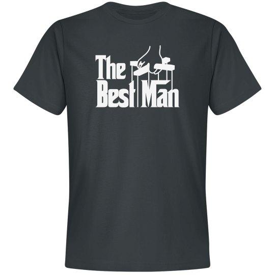 The best man shirt