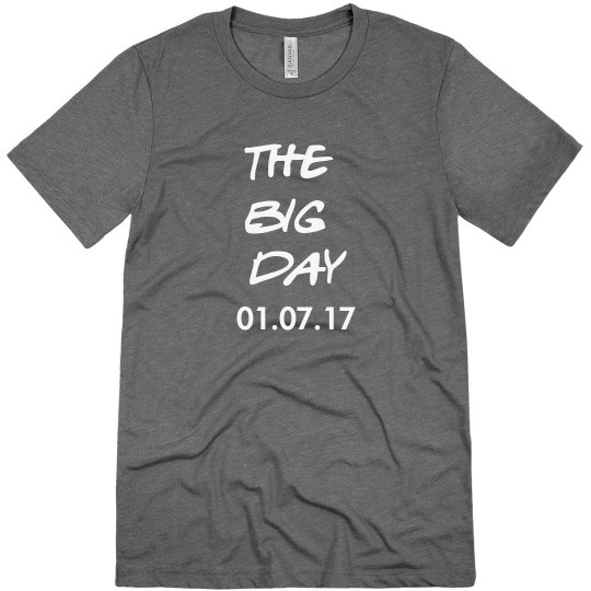 The Big Day Bachelor Party Shirt