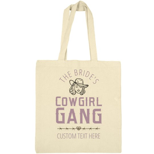 The Bride's Cowgirl Gang Tote