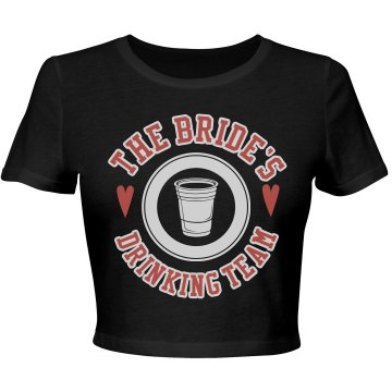 The Bride's Drinking Team