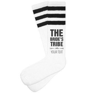 The Bride's Tribe Heart Arrow