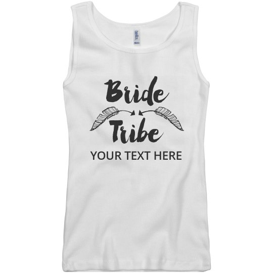The Bride's Tribe With Feathers