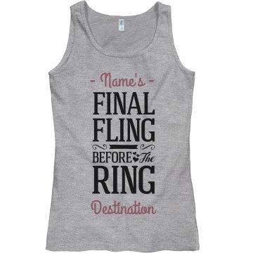 The Final Fling Bridesmaid
