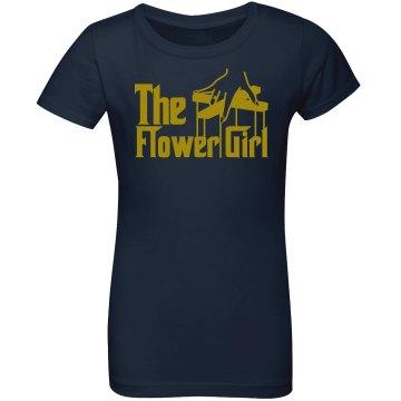 The Flower Girl Girl's Tee