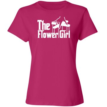 The flower girl shirt