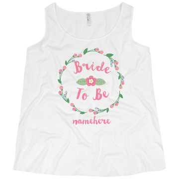 The Flowery Bride To Be