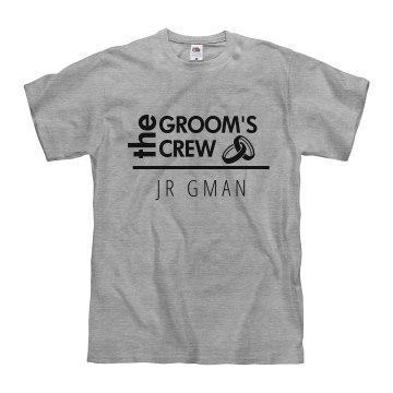 The Groom's Crew Jr Gman