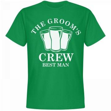 The Groom's Irish Bachelor Crew
