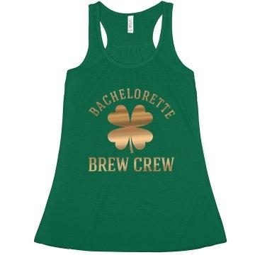 The Irish Bachelorette Brew Crew