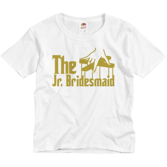 The Jr. Bridemaid Youth Tee