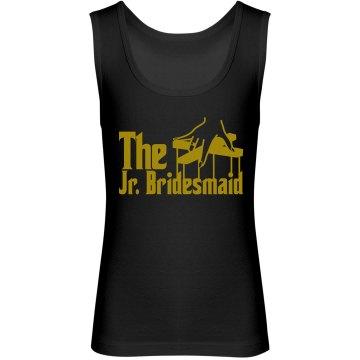 The Jr. Bridesmaid Youth Jersey Tank Top
