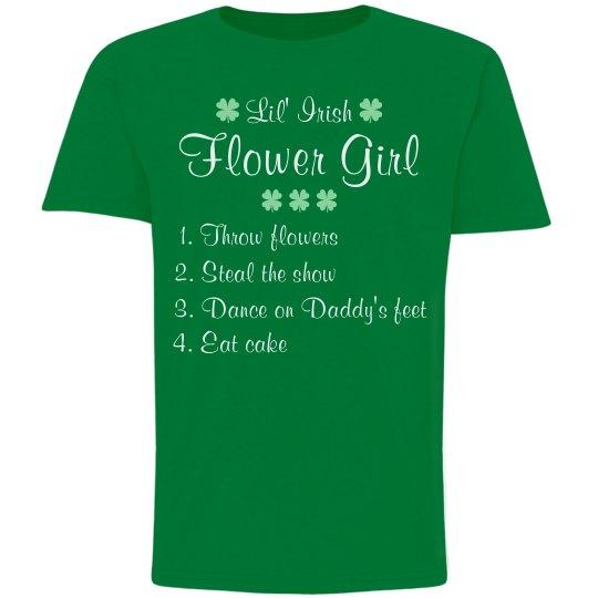 The Little Irish Flower Girl