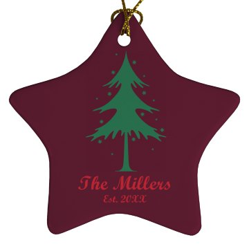 The Millers Ornament