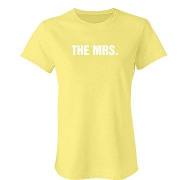 The Mrs. Yellow Tee