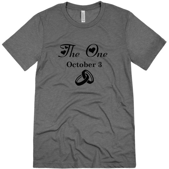 The One Groom's Tee