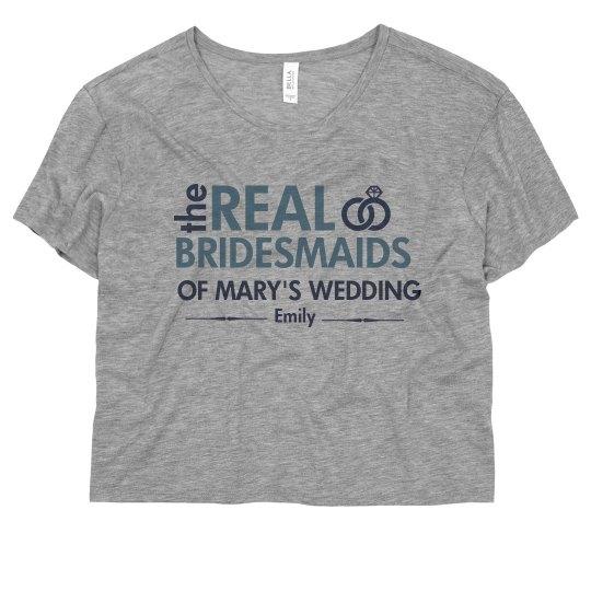 The Real Bridesmaid