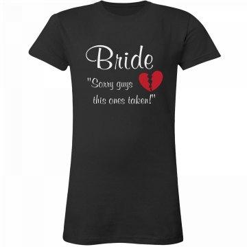 This Bride's Taken