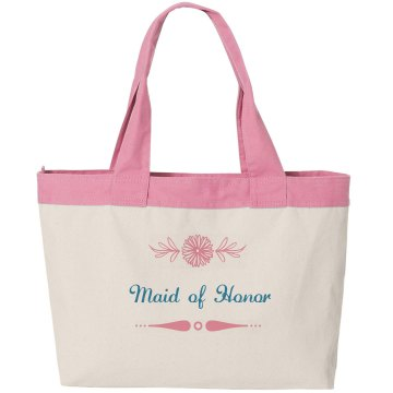 Tote bag for the maid of honor