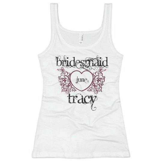 Tracy Heart Bridesmaid