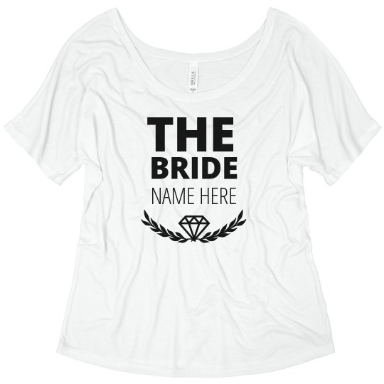 Trendy Diamond Matching Bride