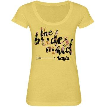Trendy Floral Bridesmaid