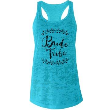Trendy Laurel Bride Tribe