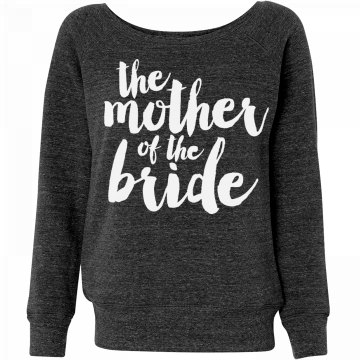 Trendy Mother of Bride