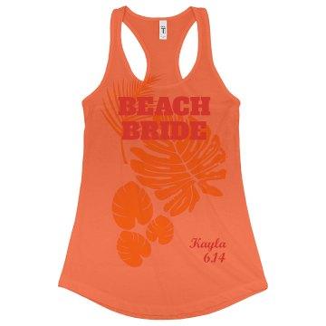 Tropical Beach Bride